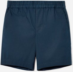 Air Chino Drawstring Short by Everlane in Navy, Size S
