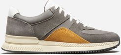 Trainer by Everlane in Charcoal / Mustard, Size W6.5M4.5