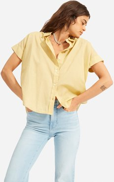Square Air Shirt by Everlane in Hemp, Size XL