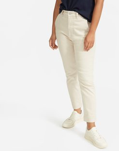 Slim Leg Crop Pant by Everlane in Sandstone, Size 14