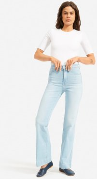 Modern Flare Jean by Everlane in Light Blue Wash, Size 32