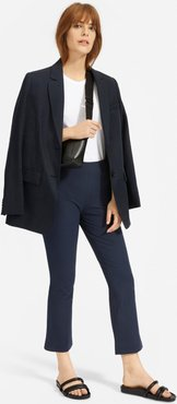 High Rise Skinny Crop Raw Hem Jean by Everlane in Navy, Size 8