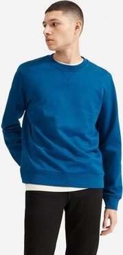 French Terry Crew   Uniform Sweater by Everlane in Dark Blue, Size XS