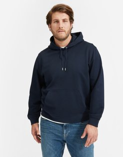 French Terry Hoodie   Uniform by Everlane in Navy, Size L