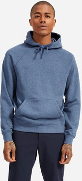 Lightweight French Terry Hoodie by Everlane in Heather Blue, Size XS
