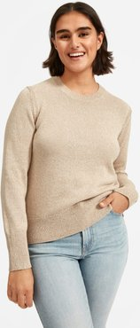Soft Cotton Crew T-Shirt by Everlane in Heathered Toast, Size M