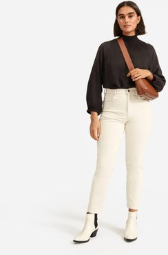 Cheeky Straight Corduroy Pant by Everlane in Canvas, Size 25