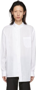 White Asymmetry Shirt