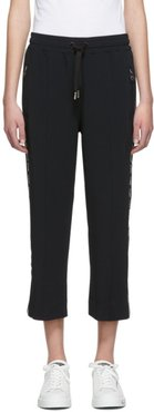 Black Logo Lounge Pants