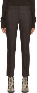 Brown Ocra Trousers