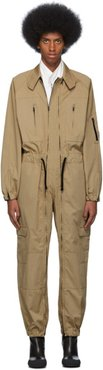 Beige Flight Suit