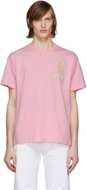 Pink Beated T-Shirt