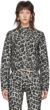 Grey Leopard Lex Jacket