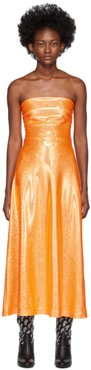 Orange Shimmer Jepska Dress