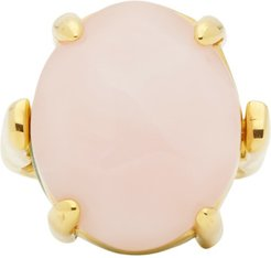 Pink and Green Chevalier Ring