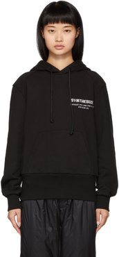 Black Synthesize Hoodie