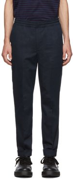 Navy Travel Trousers