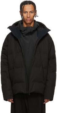 Black Down Mizusawa Shuttle Jacket