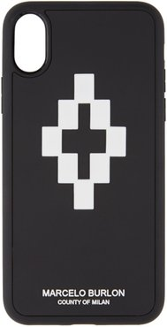 Black and White 3D iPhone X Case