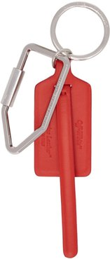 Red Tag Keychain