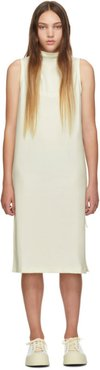 Online Exclusive White Jersey Tank Dress