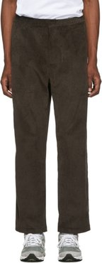 Brown Corduroy Trousers