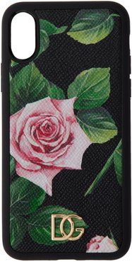 Black Rose iPhone XS Case