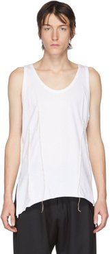 White Darts Tank Top