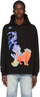 Black Great and Small Couch Surf Hoodie