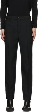 Black Anthracite Classic Trousers
