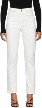 White The Benefit Jeans