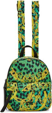 Blue and Yellow Barocco Backpack