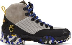 Grey Brain Dead Edition Andreas Hiking Boots