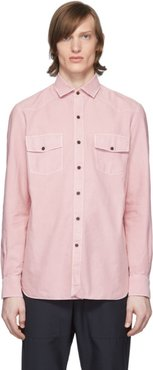 Pink Dyed Western Shirt