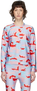 Multicolor Camo Long Sleeve T-Shirt