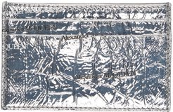 Silver Patent Card Holder
