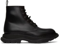 Black Beauty Lace-Up Boots