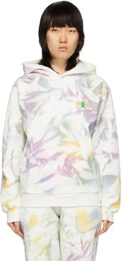 White Shout Patch Hoodie