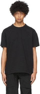 SSENSE Exclusive Black Zip T-Shirt