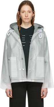 Off-White Short Lined Rain Jacket