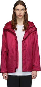 Pink Ripstop Hooded Jacket