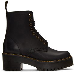 Black Shriver Hi Boots