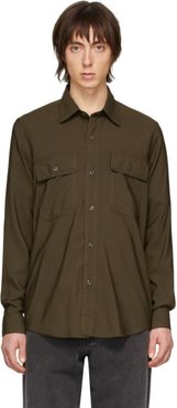 Green Double Pocket Shirt