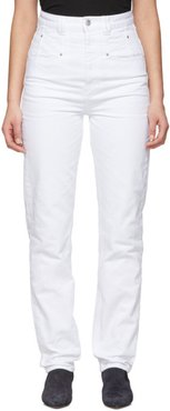 White Dominic Jeans