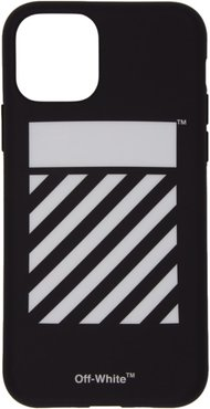 SSENSE Exclusive Black and White Diag iPhone 11 Pro Case