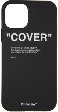 SSENSE Exclusive Black Quote iPhone 11 Pro Case