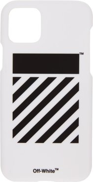 SSENSE Exclusive White Diag iPhone 11 Pro Case