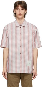 Pink Micro Check Institute Shirt