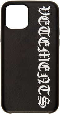 Black Logo iPhone 11 Pro Case