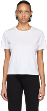 White High Twist Cotton Classic T-Shirt